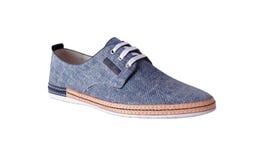 Schuhe für einen jungen Mann Lizenzfreie Stockfotografie