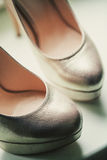 Schuhe schließen oben Stockbilder