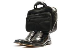Schuhe und Handtasche Lizenzfreies Stockfoto