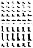 Schuhe und Matten Lizenzfreie Stockfotos