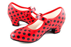 Schuhe zu tanzen Stockbild