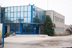 Schuhfabrik Stockfotos