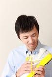 Schuhgeruch Stockfoto