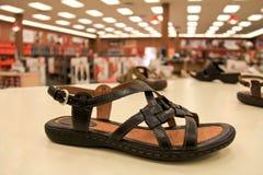 Schuhgeschäft Stockfotografie