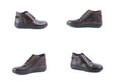 Schuhleder Stockfoto