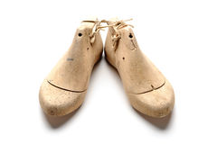 Schuhletzte Stockbild