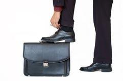 Schuhschnüren Lizenzfreie Stockfotos