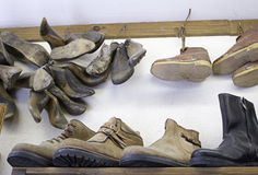 Schuhstiefel Stockfotos