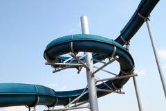 Schuif van zwembad Stock Afbeelding