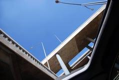 Schuifdak en Viaduct Stock Foto's