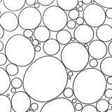 Schuim onder microscoop Royalty-vrije Stock Afbeelding