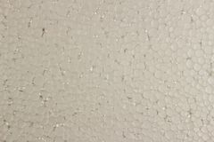 Schuim plastic wit als achtergrond stock foto