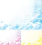 Schuimende achtergronden vector illustratie