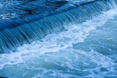 Schuimende Waterval Royalty-vrije Stock Afbeelding