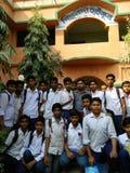 Schul-Feier 21 bei Februar auf unserem Schule-pichalda Stockfotografie