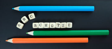 Schulanfang Lizenzfreies Stockfoto