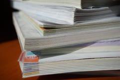 Schulbücher lizenzfreie stockfotos