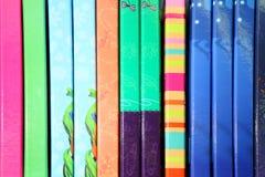 Schulbedarf, Briefpapierzubehör Buntes Briefpapier Lizenzfreies Stockbild