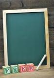 Schulbehörde und Wort geben frei Lizenzfreies Stockfoto