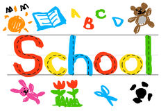 Schulbildung Kowledge-Student Studying Concept Lizenzfreies Stockfoto
