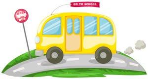 Schulbus vektor abbildung