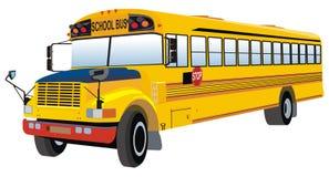 Schulbus Stockbild