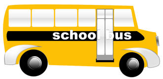 Schulbus Stockfotografie