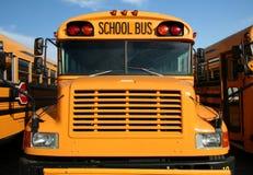 Schulbus-Serie - 2 Stockbild