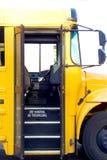 Schulbus-Tür Stockfotografie