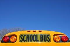 Schulbus-Zeichen Lizenzfreies Stockfoto