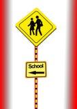 Schule-Überfahrt Lizenzfreie Stockfotografie