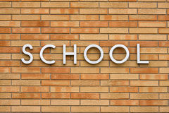 Schule Stockfoto
