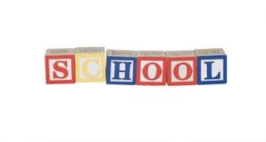 Schule Stockbild