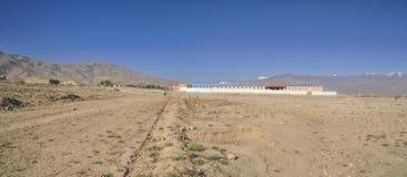 Schule in Afghanistan stockbild