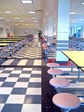Schule-Cafeteria Lizenzfreie Stockfotografie