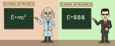 Schule des Geschäfts Lizenzfreie Stockfotos