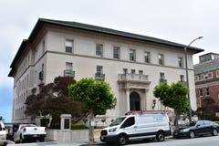 Schule des heiligen Herzens San Francisco, die Flutvilla, 2 stockbilder