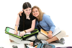 Schule-Freunde Stockfoto