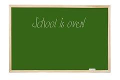 Schule ist vorbei Stockbilder