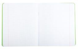 Schule-Notizbuch Stockfotografie
