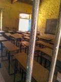Schule oder Gefängnis stockbilder
