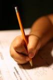 Schule-Schreiben Lizenzfreie Stockfotografie