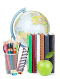 Schule- und Bürozubehöre Lizenzfreies Stockbild