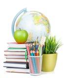 Schule- und Bürozubehöre Stockfoto