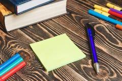 Schule- und Bürozubehöre Lizenzfreie Stockfotografie