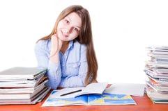 Schule und Bildungsbegriffsbild lizenzfreie stockbilder