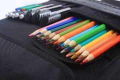 Schule- und Kunstzubehör Stockfoto