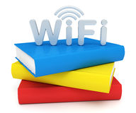 Schule WiFi stock abbildung