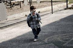 Schule-Yard stockfotografie