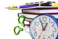 Schuleaufbau lizenzfreie stockfotos